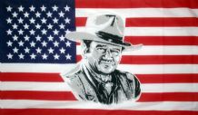 USA JOHN WAYNE - 5 X 3 FLAG